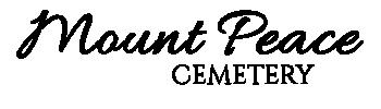 Mount Peace Cemetery Logo